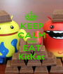 KEEP CALM AND EAT KitKat - Personalised Poster A1 size