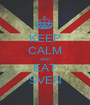 KEEP CALM AND EAT SVEN - Personalised Poster A1 size