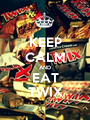 KEEP CALM AND EAT TWIX - Personalised Poster A1 size
