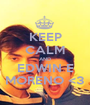 KEEP CALM AND EDWIN E MORENO <3 - Personalised Poster A1 size