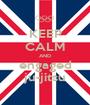 KEEP CALM AND engaged ju-jitsu - Personalised Poster A1 size