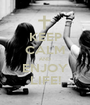 KEEP CALM AND ENJOY LIFE! - Personalised Poster A1 size