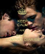 KEEP CALM AND ENJOY VAMPIRE DIARIES - Personalised Poster A1 size