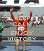 KEEP CALM AND ENJOY VICTORY - Personalised Poster A1 size