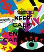 KEEP CALM AND ENJOYS CARNIVALS - Personalised Poster A1 size