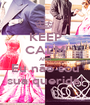 KEEP CALM AND Eu não sou sua querida! - Personalised Poster A1 size