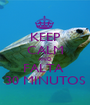 KEEP CALM AND FALTA  30 MINUTOS - Personalised Poster A1 size