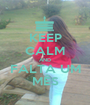 KEEP CALM AND FALTA UM MÊS - Personalised Poster A1 size