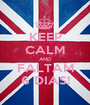 KEEP CALM AND FALTAM 6 DIAS! - Personalised Poster A1 size