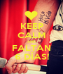KEEP CALM AND FALTAN 6 DÍAS! - Personalised Poster A1 size