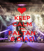 KEEP CALM AND FALTAN 8 DÍAS! - Personalised Poster A1 size