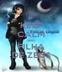 KEEP CALM AND FILHA DE ZEUS - Personalised Poster A1 size