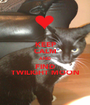 KEEP CALM AND FIND TWILIGHT MOON - Personalised Poster A1 size