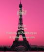 KEEP CALM AND Follow @ABalkeyss  & @Balqisnurulh - Personalised Poster A1 size