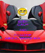KEEP CALM AND FOLLOW ABDUL HADI KHAN - Personalised Poster A1 size