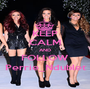 KEEP CALM AND FOLLOW Perrie_Ndublet - Personalised Poster A1 size
