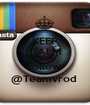 KEEP CALM AND Follow  @Teamvrod  - Personalised Poster A1 size