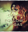 KEEP CALM AND FOLLOW THEGAS - Personalised Poster A1 size