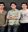KEEP CALM AND FOREVER LAYLER - Personalised Poster A1 size