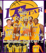 KEEP CALM AND Forget all you Laker haters - Personalised Poster A1 size