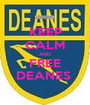 KEEP CALM AND FREE DEANES  - Personalised Poster A1 size