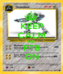 KEEP CALM AND FTB ON - Personalised Poster A1 size