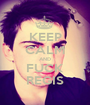KEEP CALM AND FUCK REGIS - Personalised Poster A1 size