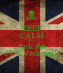 KEEP CALM AND fuck the FUT Verlosung - Personalised Poster A1 size
