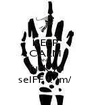 KEEP CALM AND fuck ya selFF !! \m/ - Personalised Poster A1 size