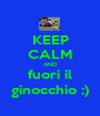 KEEP CALM AND fuori il ginocchio ;) - Personalised Poster A1 size