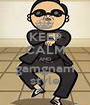 KEEP CALM AND gamgnam style - Personalised Poster A1 size