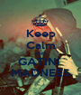 Keep Calm AND GATINI  MADNEES - Personalised Poster A1 size
