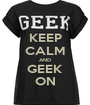 KEEP CALM AND GEEK ON - Personalised Poster A1 size