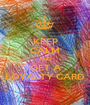 KEEP CALM AND GET A LOYALTY CARD - Personalised Poster A1 size