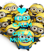 KEEP CALM AND GET A MINION - Personalised Poster A1 size