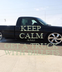 KEEP CALM AND GET A TRUCK  WITH BILLETS - Personalised Poster A1 size