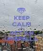 KEEP CALM AND GET AN UMBRELLA - Personalised Poster A1 size