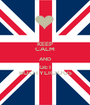 KEEP CALM AND GET BOOTYLICIOUS - Personalised Poster A1 size