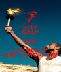 KEEP CALM AND GET READY FOR TOMORROW - Personalised Poster A1 size
