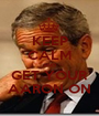 KEEP CALM AND GET YOUR AARON ON - Personalised Poster A1 size