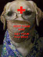 KEEP CALM AND  GET YOUR FLU SHOT - Personalised Poster A1 size