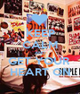 KEEP CALM AND GET YOUR  HEART ON - Personalised Poster A1 size