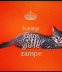 keep calm and giù le zampe - Personalised Poster A1 size