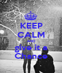 KEEP CALM AND give it a Chance - Personalised Poster A1 size