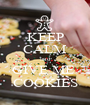KEEP CALM and GIVE ME  COOKIES - Personalised Poster A1 size