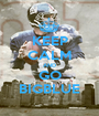 KEEP CALM AND GO BIGBLUE - Personalised Poster A1 size