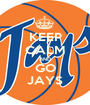 KEEP CALM AND GO JAYS - Personalised Poster A1 size
