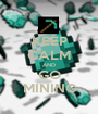 KEEP CALM AND GO MINING - Personalised Poster A1 size