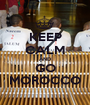 KEEP CALM AND GO MOROCCO - Personalised Poster A1 size