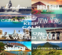 KEEP CALM AND GO ON A WORLD TOUR - Personalised Poster A1 size